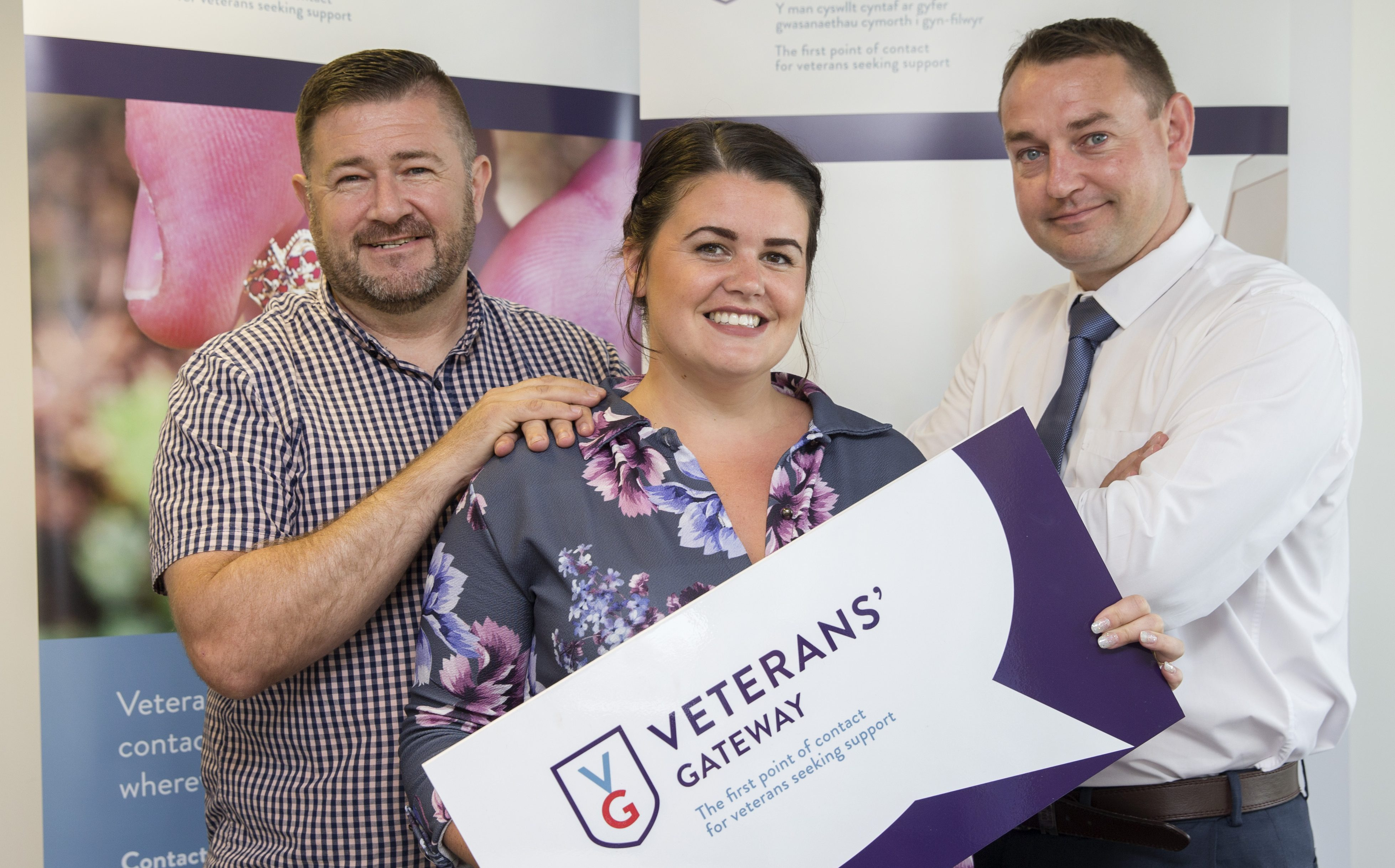 Meet the veterans who work on our helpline -