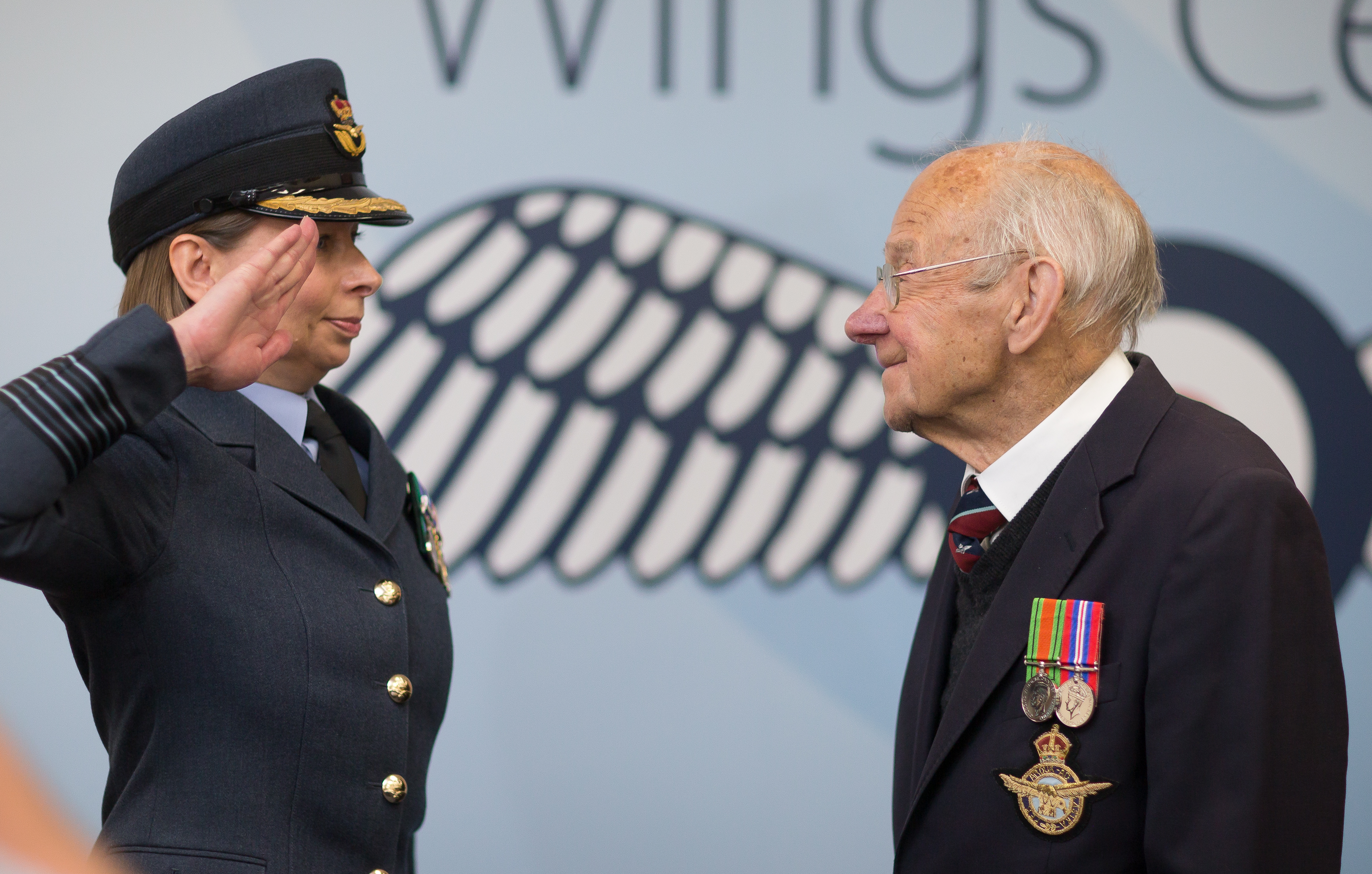 How a Wings Centre helped a WWII veteran finally get his medals -