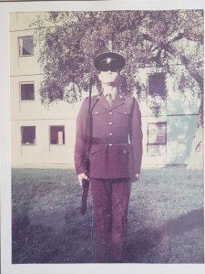 Ian in uniform