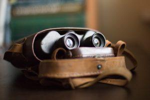 Binoculars indoor