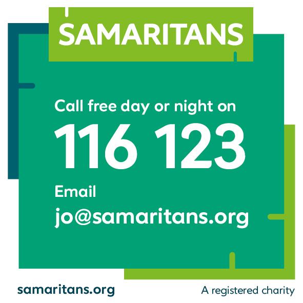 Contacts for Samaritans